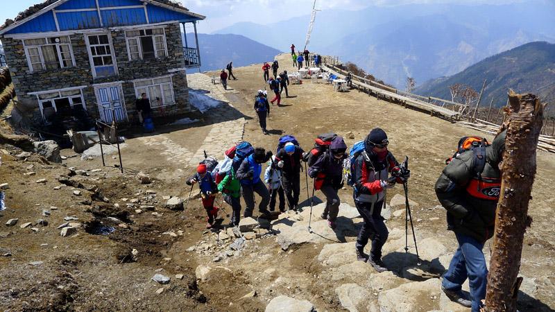 Langtang Trekking 2015